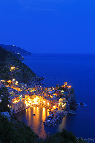 Vernazza, Cinque Terre at Night