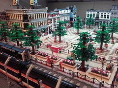 The Lego 8404 tram is arriving!