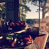 #breakfast at the #lakehouse with @mstiggywinkle