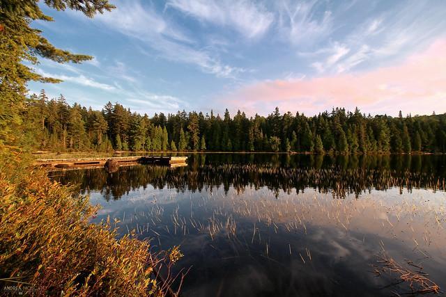 Lac Alphonse - La Mauricie National Park ( Québec, Canada)