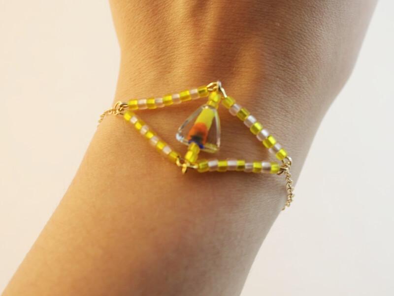 How To Make A Beaded Eye Charm DIY Jewelry Hub