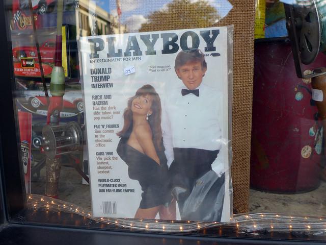 Donald Trump Playboy magazine cover 1990 $28 Ottawa St. N.