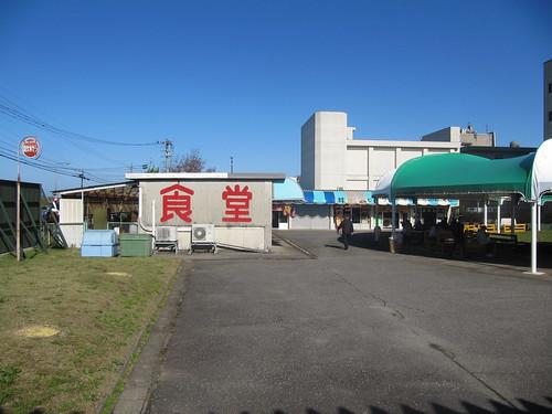 金沢競馬場の食堂街