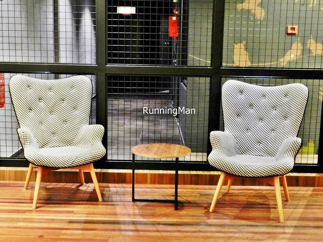 U Hotel 07 - Lobby Chairs & Wire Mesh
