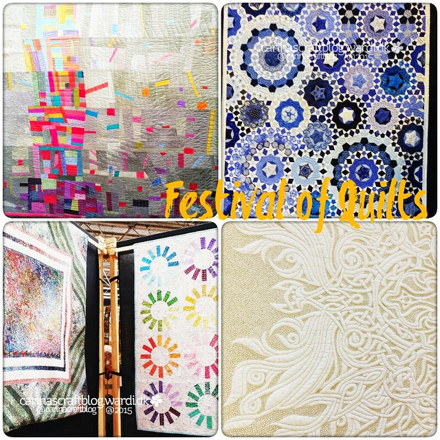 Festival of Quilts collage