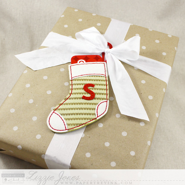 Monogrammed Stocking Tag