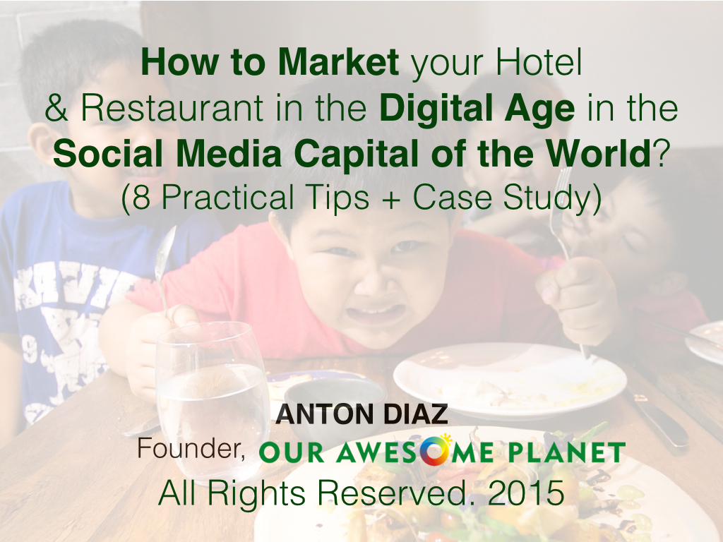 How to Market your Hotel & Restaurant in the Digital Age?.001