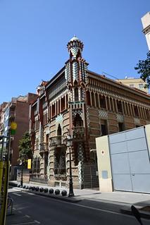 Hình ảnh của Casa Vicens gần Gràcia. barcelona españa spain espagne barcelone août espanya 2015 casavicens august2015