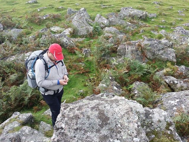 Matt on Shadyback Tor