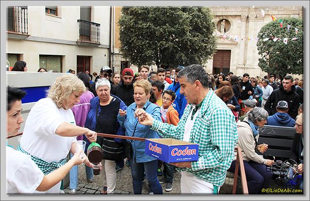 Briviesca en Fiestas 2.015 Primer encierro y chocolatada popular (16)