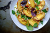 Rucola's Whipped Ricotta & Peach Salad by Premshree Pillai