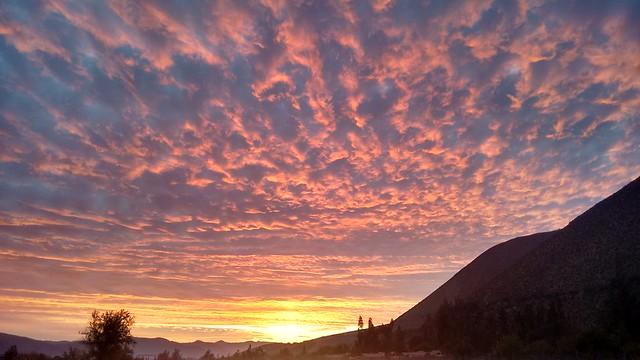 Fiestas Patrias Sunset, Diaguitas, Valle de Elqui, Chile