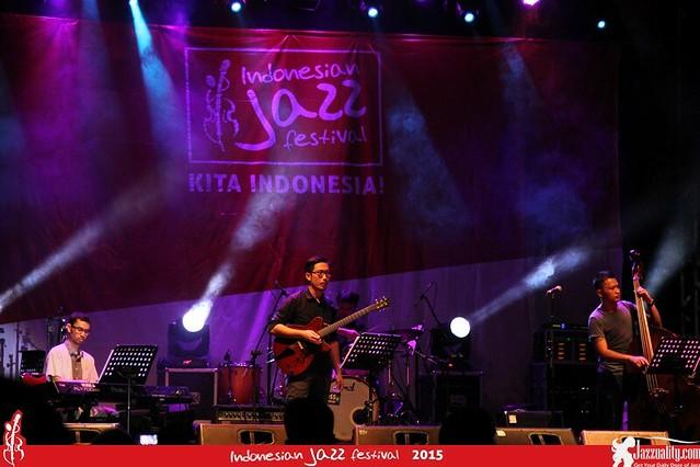 Indonesian Jazz Festival 2015 - Kevin Yosua Quartet(2)