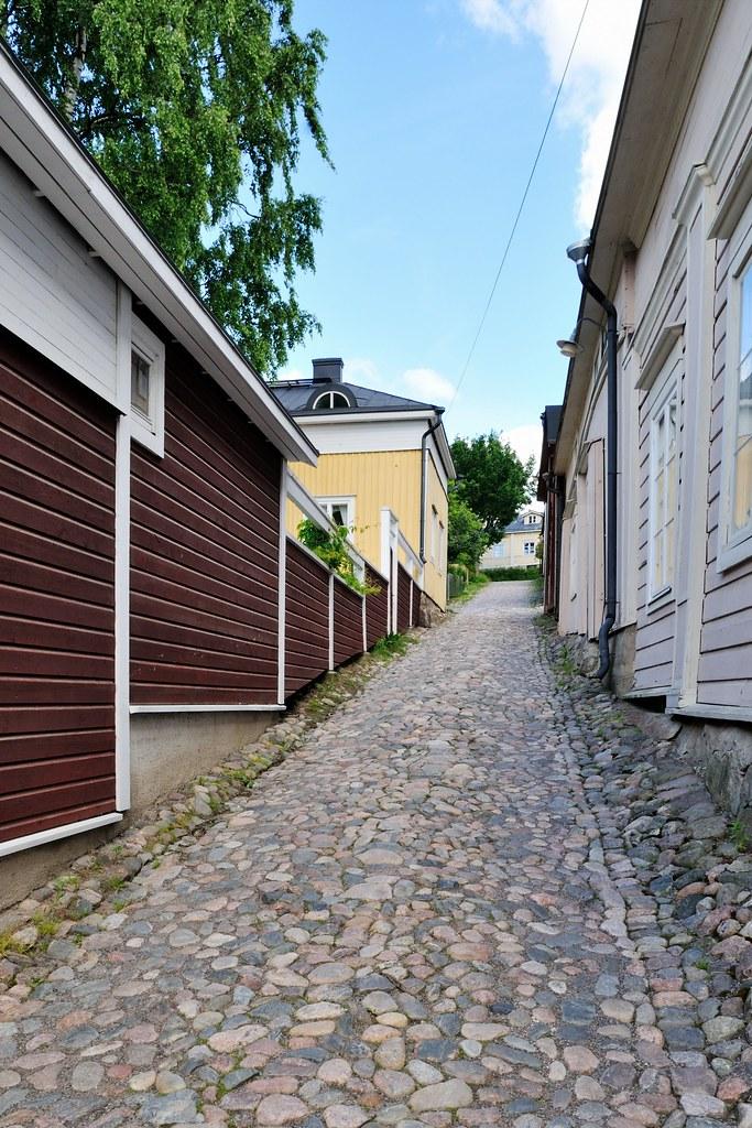 Porvoo - Altstadt