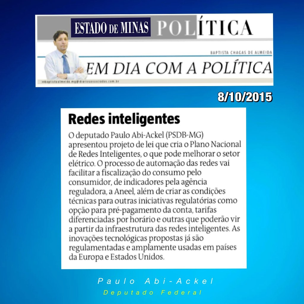 08 10 2015 - Coluna Baptista Chagas