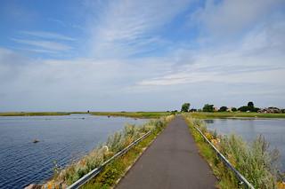 Fördämningsvägen mellan öarna Utlängan och Stenshamn, Blekinge