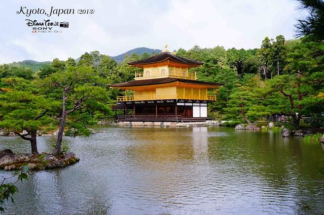 Kyoto - Kinkakuji (Golden Pavilion) 01