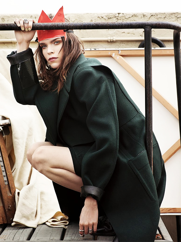 Meghan Collison by Mark Segal for Vogue Japan January 2014