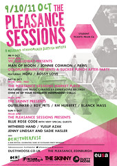 Pleasance Sessions - 9-11 October