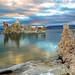 Mono Lake California at sunrise. by Randall R. Howard