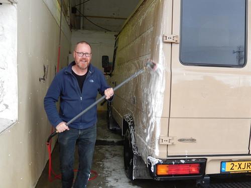 Stratford - bus wassen
