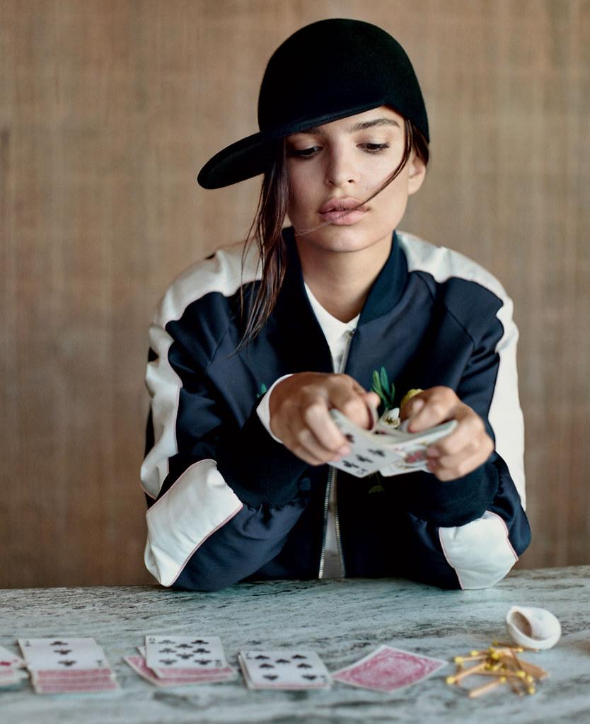 Эмили Ратайковски — Фотосессия для «Vogue» 2015 – 4