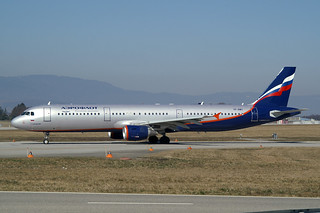 """Aeroflot - Russian Airlines Airbus A321-211 VP-BWO """"P. Chaikovsky"""""""