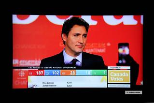 Canada has a new Prime Minister: Justin Trudeau