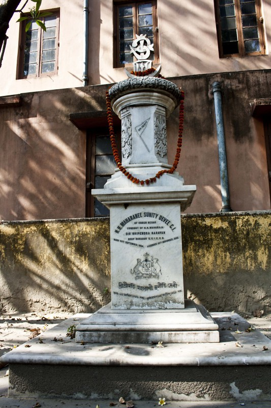 Nabadebalaya - Grave of Sunita Devi (Maharani of Coochbehar) - Brahmo Cemetery, Kolkata, India