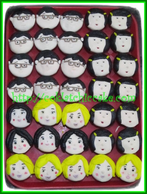 Cupcake Muka-muka