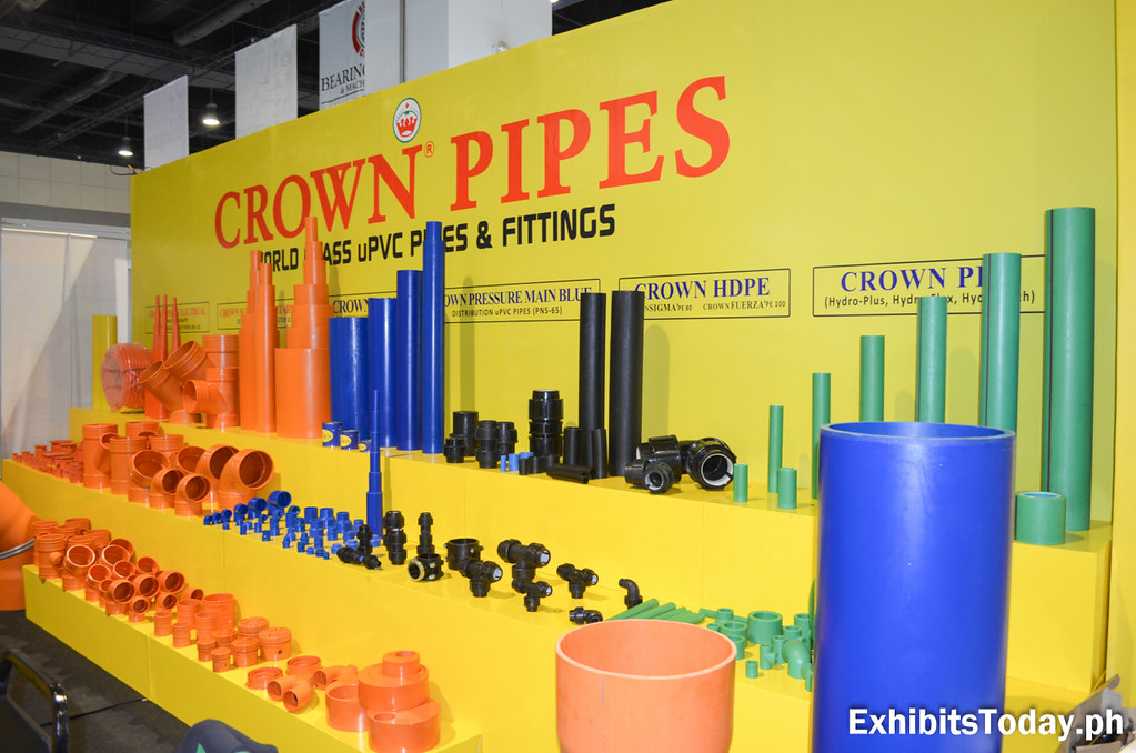 Crown Pipes Exhibit Booth