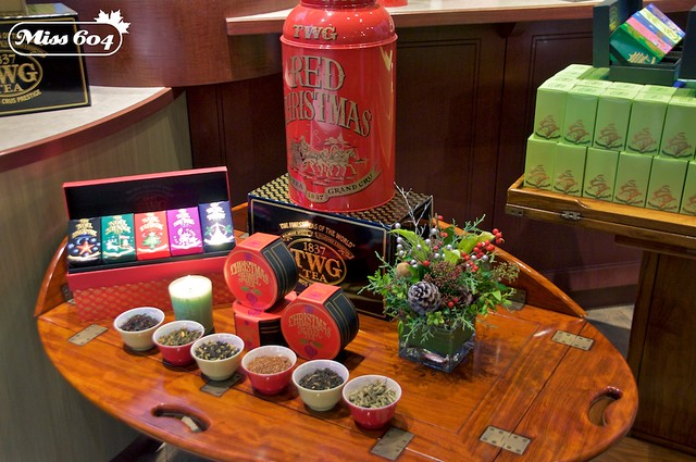 Festive Tea Service at The Urban Tea Merchant