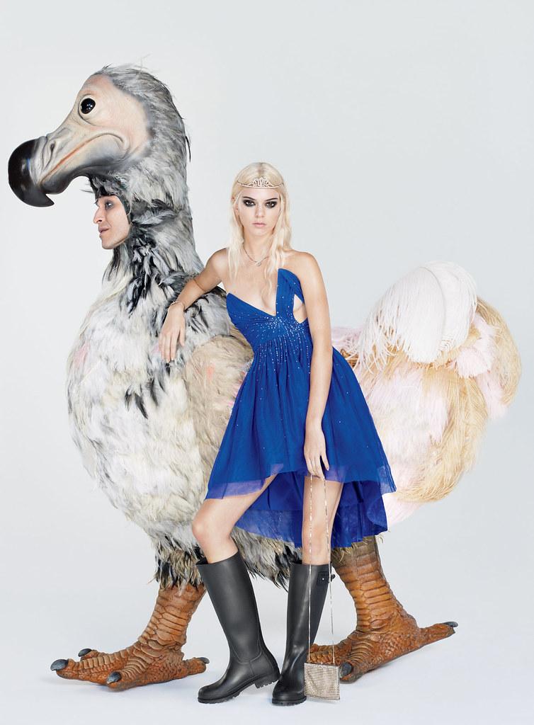 Кендалл Дженнер — Фотосессия для «Vogue» 2015 – 5