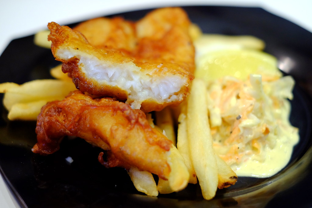 Halal Cafes in the East: Cookwerx by Chef Taj's Fish & Chips