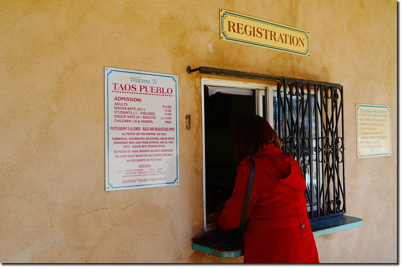 Taos Pueblo Registration