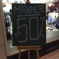 50-Prozent-Männer gesucht