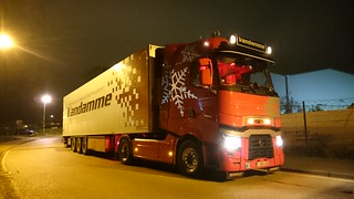 Renault T CAB VANDAMME TRANSPORT IN THE UK