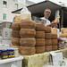 Puglian Cheese - Cisternino Market, Puglia, Italy