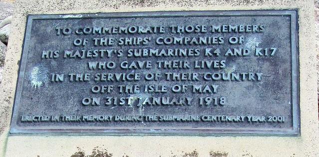 Anstruther Memorial Plaque