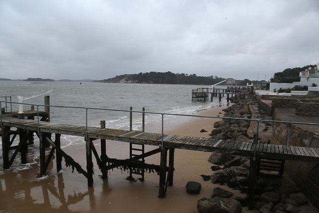 Brownsea Island from Sandbanks