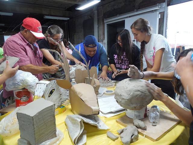 Puppet & Mask-Making Workshops for Popol Vuh: Heart of Heaven
