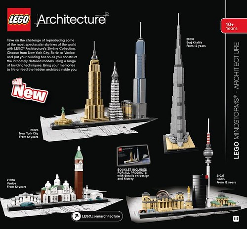 LEGO Architecture 2016