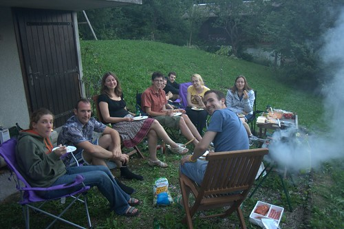 Barbeque at our Chalet