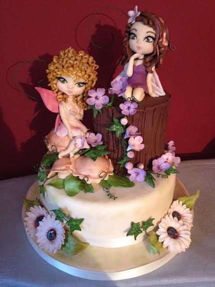 The enchanted wood cake by Sara Tidei of Officina dello zucchero
