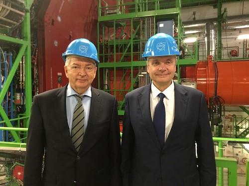RTU rektors piedalās Latvijas un CERN līguma parakstīšanā