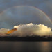 Sunset & Rainbow on Lake Maggiore by ladigue_99