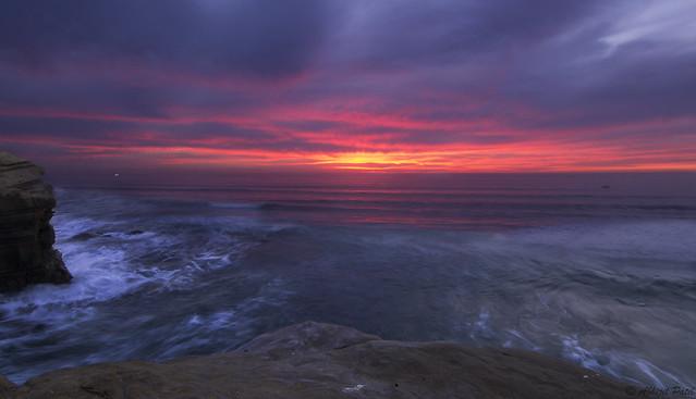 Sunset_cliffs_1, Nikon D3100, Tokina AT-X 116 PRO DX II (AF 11-16mm f/2.8)