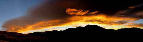 colorado hiking mountains sky clouds landscape panorama morning sunrise guanellapass mountbierstadt mountevans silhouette wavecloud