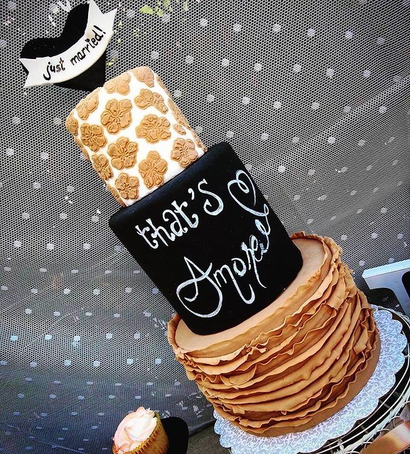 Wedding Cake by Wonderwhip, Cake art & co.