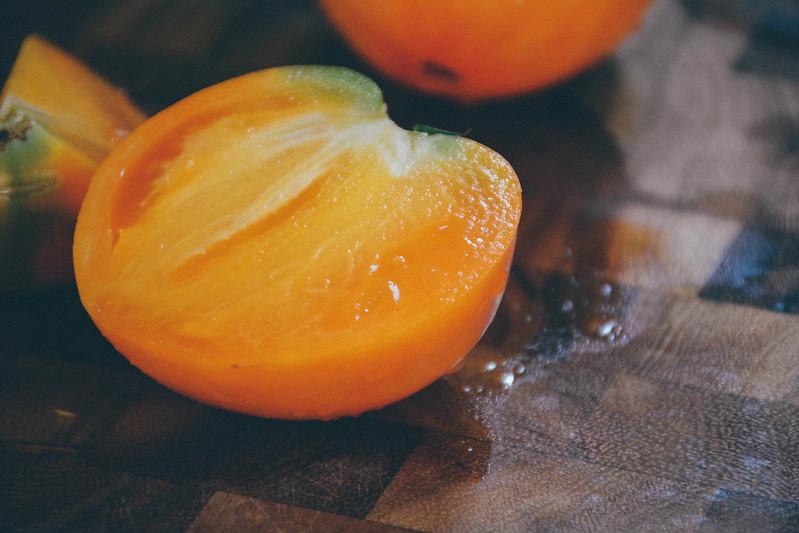 oxheart orange tomato
